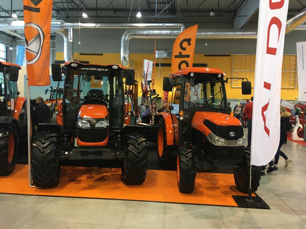 """Traktory marki Kubota - Mascus na targach Agro Show 2019"""""""