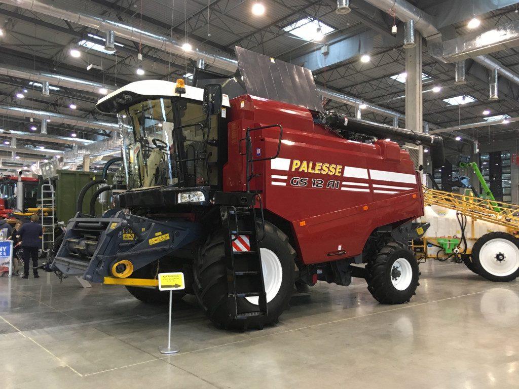 "Kombajn marki Gomselmash Palesse GS 12 - Mascus na targach Agro Show 2019"""