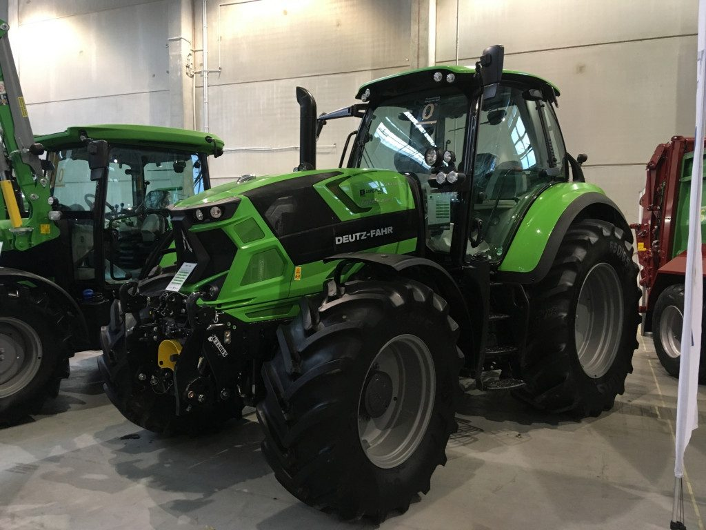 "Traktor marki Deutz-Fahr - Mascus na targach Agro Show 2019"""