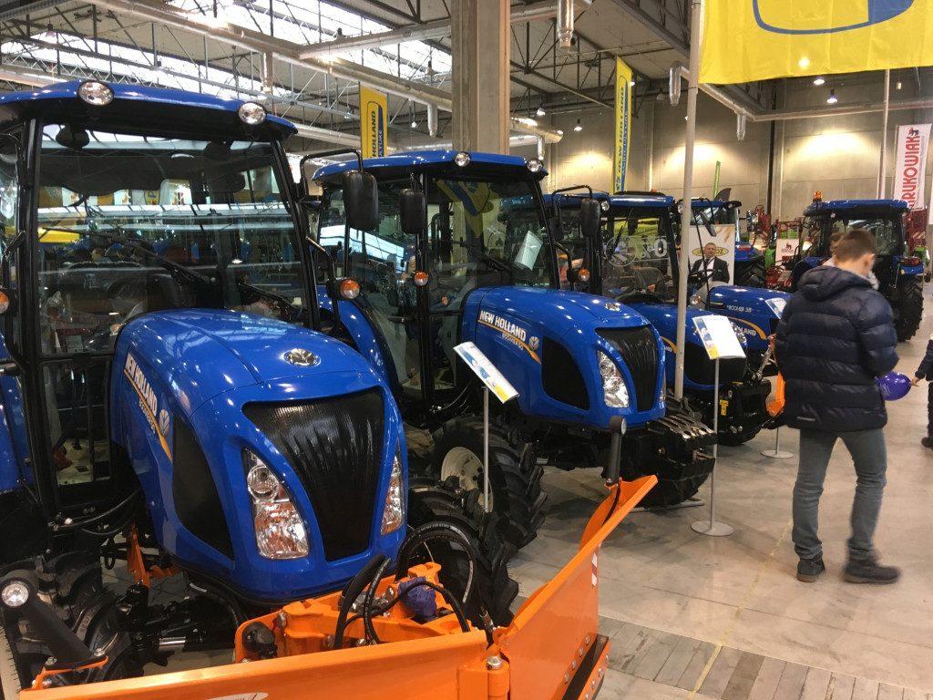 "Traktory marki New Holland - Mascus na targach Agro Show 2019"""