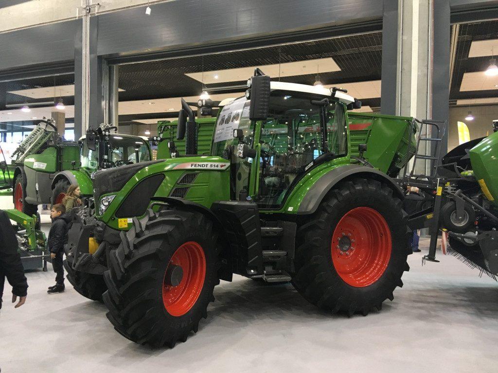 "Traktor marki Fendt - Mascus na targach Agro Show 2019"""