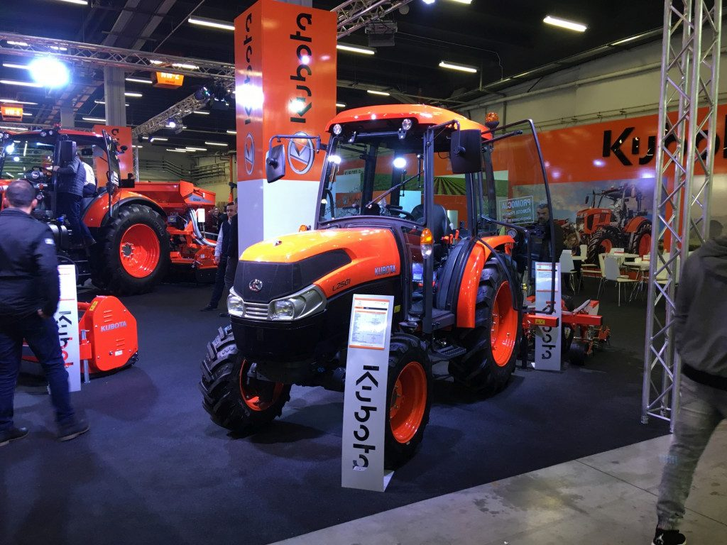 Ciągnik Kubota - Mascus na Targach AGROTECH Kielce 2019